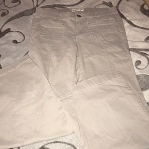 Old Navy Wide Leg Pants Size 10 Taupe